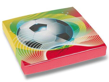 Obrázek produktu Papírové ubrousky Football Party - 33 x 33 cm, 20 ks