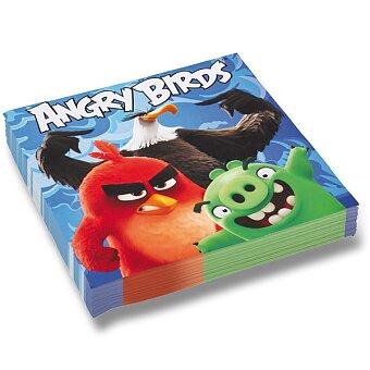 Obrázek produktu Papírové ubrousky Angry Birds Movie - 33 x 33 cm, 20 ks