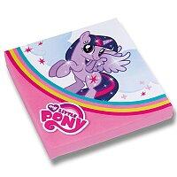 Papírové ubrousky My Little Pony Rainbow