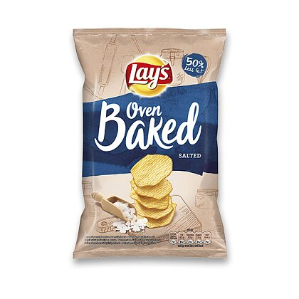 Product image Lay's - potato chips baked in oven - Salted, 65 g