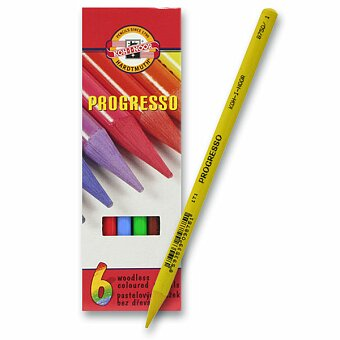 Obrázek produktu Pastelky Koh-i-noor Progresso 8755 - 6 barev