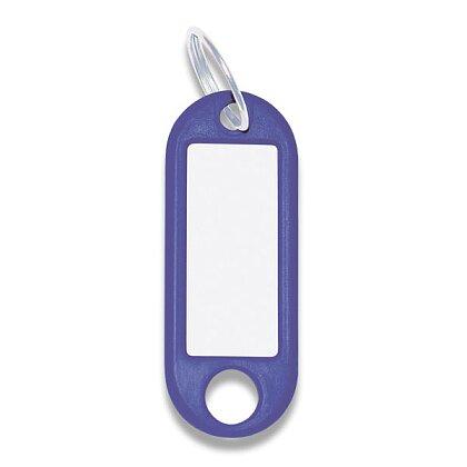 Obrázek produktu ConmetRON - plastové jmenovky na klíče - 10 ks, modré