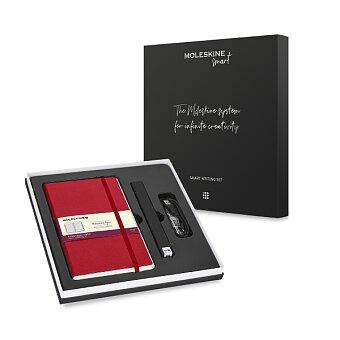 Obrázek produktu Moleskine Smart Writing Set - Pen+ Ellipse, červený