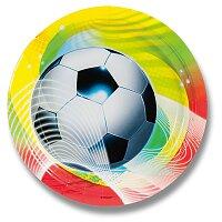 Papírové talířky Football Party