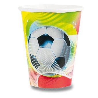 Obrázek produktu Papírové kelímky Football Party - objem 0,25 l, 8 ks