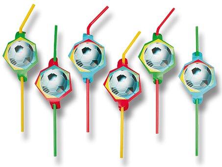 Obrázek produktu Brčka Football Party - 8 ks