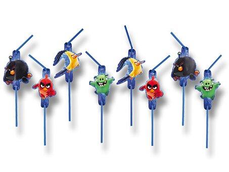 Obrázek produktu Brčka Angry Birds Movie - 8 ks