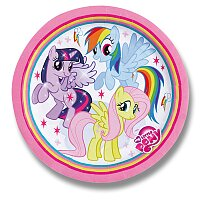 Papírové talířky My Little Pony Rainbow