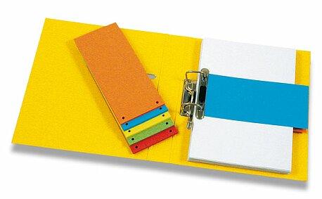 Obrázek produktu Papírový rozlišovač HIT Office - 105 x 240 mm, 100 listů, výběr barev