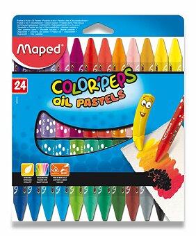 Obrázek produktu Olejové pastely Maped Color'Peps Oil Pastels - 24 barev