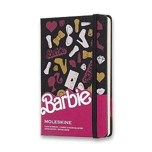 Zápisník Moleskine Barbie - tvrdé desky