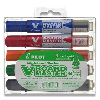 Obrázek produktu Pilot V Board Master 5979 - popisovač - 5 barev