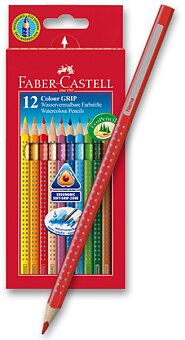 Obrázek produktu Pastelky Faber-Castell Colour Grip 2011 - 12 barev