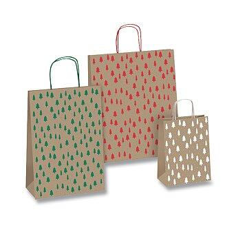 Obrázek produktu Dárková taška Kraft Natale - velikost S