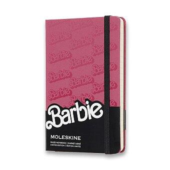 Obrázek produktu Zápisník Moleskine Barbie - tvrdé desky - S, linkovaný, Logo