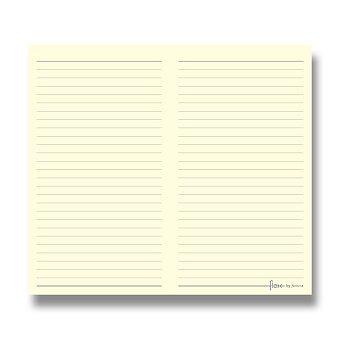 Obrázek produktu Linkovaný zápisník, tenký - náplň Flex by Filofax Slim