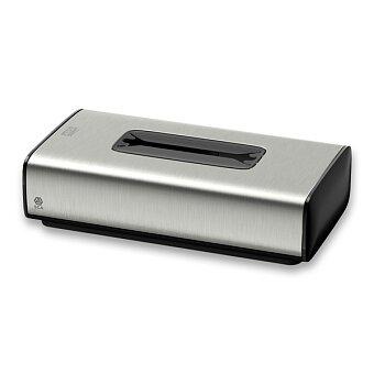 Obrázek produktu Luxusní zásobník na papírové kapesníčky Tork Image Design - nerez