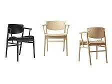 Židle s područkami Fritz Hansen N01