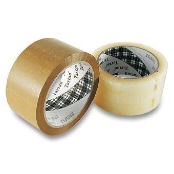 Obrázek produktu Samolepicí páska Tartan - 50 mm × 66 m, transparentní nebo hnědá