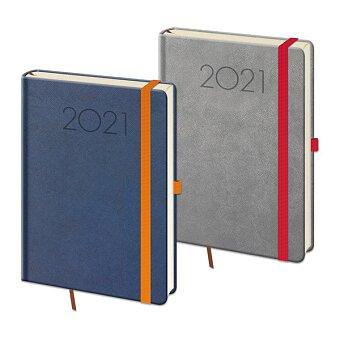 Obrázek produktu Denní diář Helma New Praga 2021 - modrý