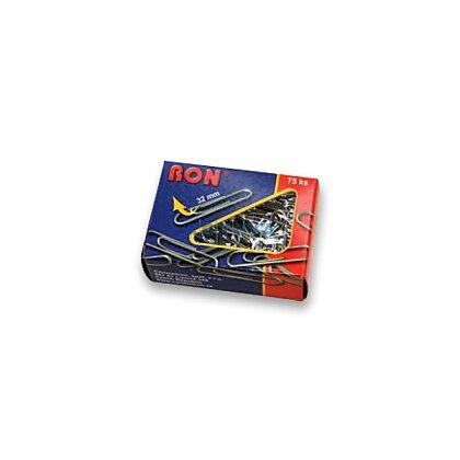 Obrázek produktu RON - kancelářské sponky s náběhem - 32 mm, 75 ks