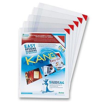 Obrázek produktu Samolepící kapsa pro prezentaci Tarifold Kang - A4, max 10 listů, 5 ks