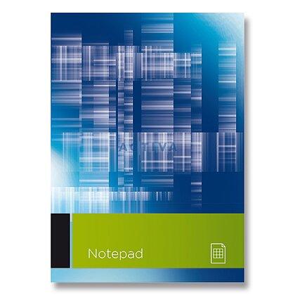 Obrázok produktu Writing Pad - šitý blok - A4, 100 l., linajkový