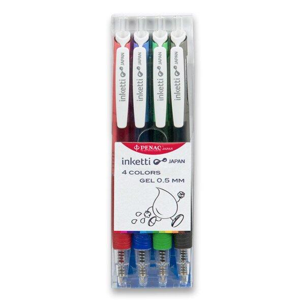 Roller Penac Inketti sada 4 základních barev