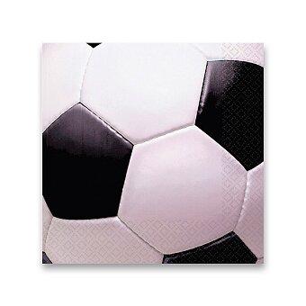 Obrázek produktu Papírové ubrousky Goal Getter - 33 x 33 cm, 16 ks