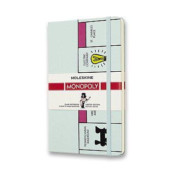 Obrázek produktu Zápisník Moleskine Monopoly - tvrdé desky - L, čistý, Deska