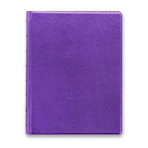 Zápisník A5 Filofax Notebook Saffiano Metallic