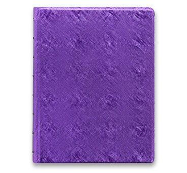 Obrázek produktu Zápisník A5 Filofax Notebook Saffiano Metallic - violet