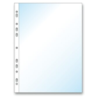 Obrázek produktu Zakládací obal Economy U A4, 100 ks - transparentní, matný