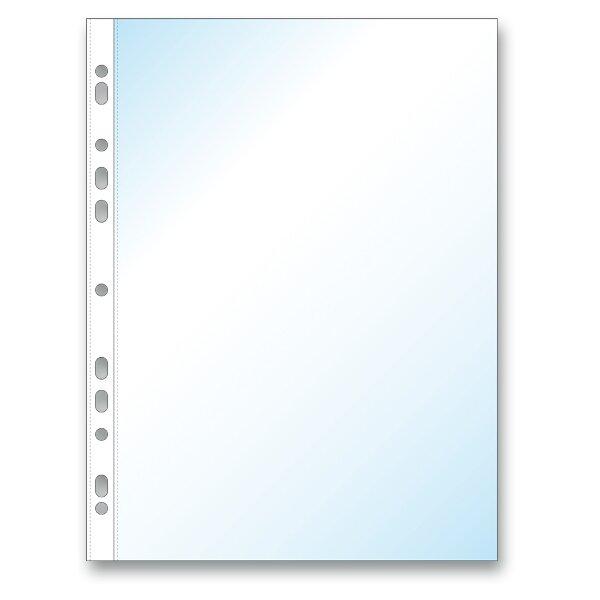 Zakládací obal Economy U A4, 100 ks transparentní, matný
