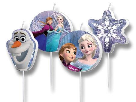 Obrázek produktu Dortové svíčky Frozen - 4 ks