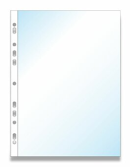 Obrázek produktu Zakládací obal U Max, 50 ks - transparentní, matný