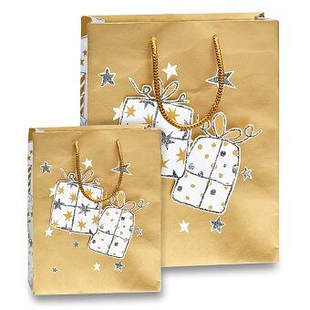 Obrázek produktu Dárková taška Rex Glitter I - 205 × 110 × 260 mm, vel. S