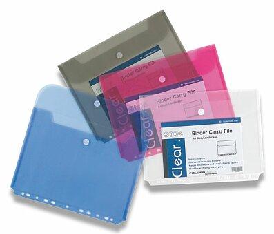 Obrázek produktu Spisovka závěsná FolderMate Clear - A4, boční chlopeň, výběr barev