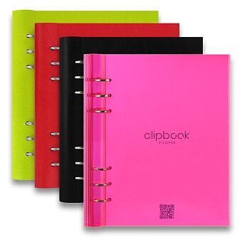 Obrázek produktu Blok Filofax Clipbook Classic A5 - výběr barev