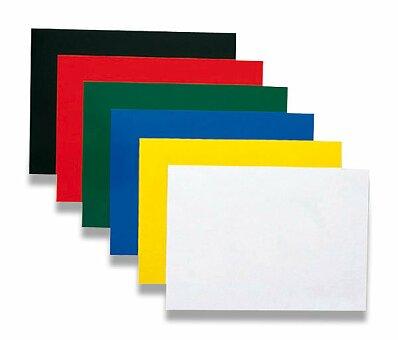 Obrázek produktu Barevná zadní strana pro kroužkový vazač A4 Ibichrom - 250 g/m, 100 ks, výběr barev