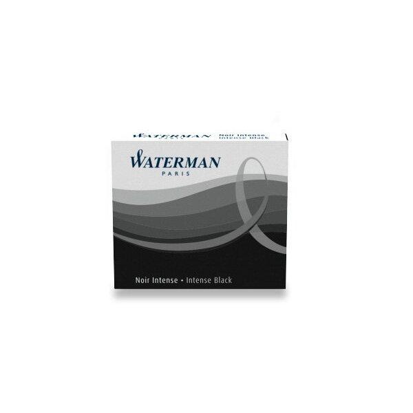 Inkoustové bombičky Waterman krátké černé