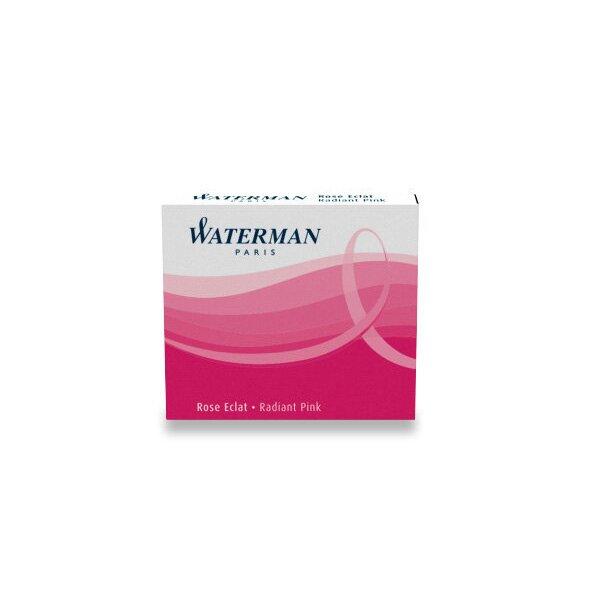Inkoustové bombičky Waterman krátké růžové