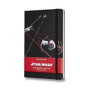 Zápisník Moleskine Star Wars - tvrdé desky