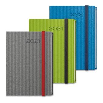 Obrázek produktu Denní diář Baloušek Vigo 2021 - A5, výběr barev