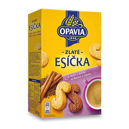 Product image Opavia Esíčka - biscuits with cinnamon and cacao
