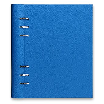 Obrázek produktu Blok Filofax Clipbook Saffiano Fluoro A5 - modrá