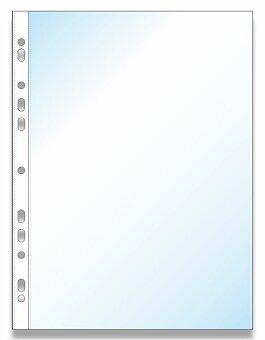 Obrázek produktu Zakládací obal Economy U A4, 100 ks - transparentní, čirý