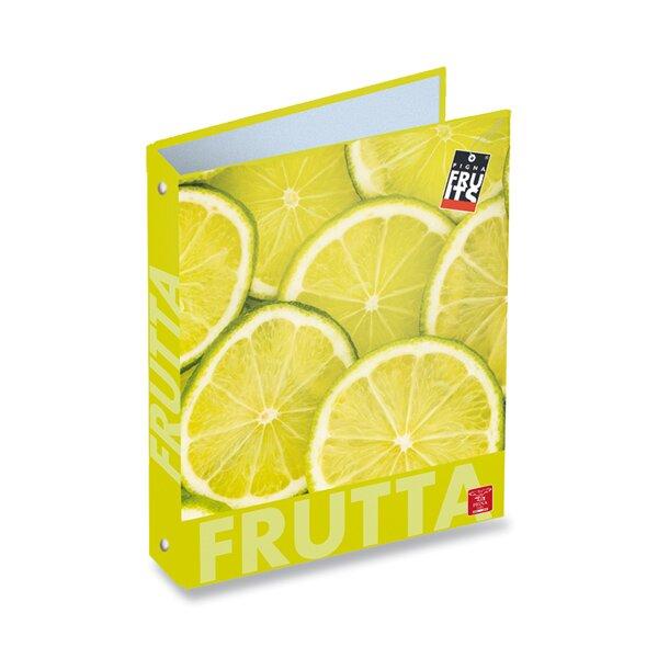 4kroužkový pořadač Pigna Fruits A4, mix motivů