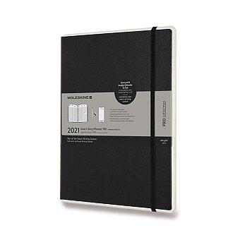 Obrázek produktu Diář Moleskine Smart Writing 2021 - XL, týdenní, černý