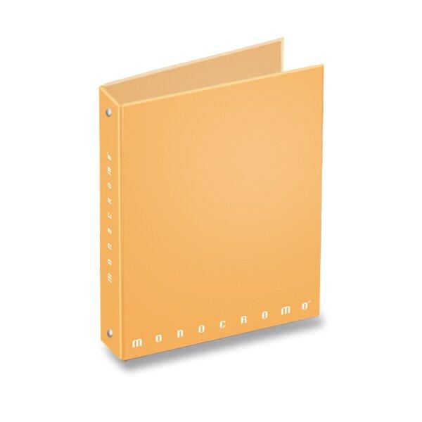 4kroužkový pořadač Pigna Monocromo Pastel A4, 30  mm, mix barev